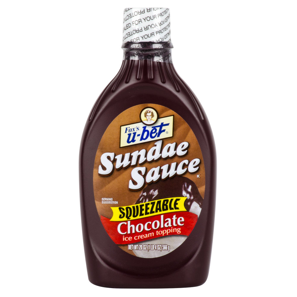 Bet Chocolate Sundae Sauce