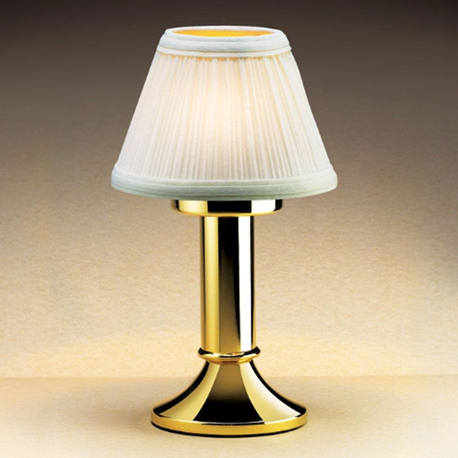 Sterno Products 85434 Cream Fabric Table Lamp Shade