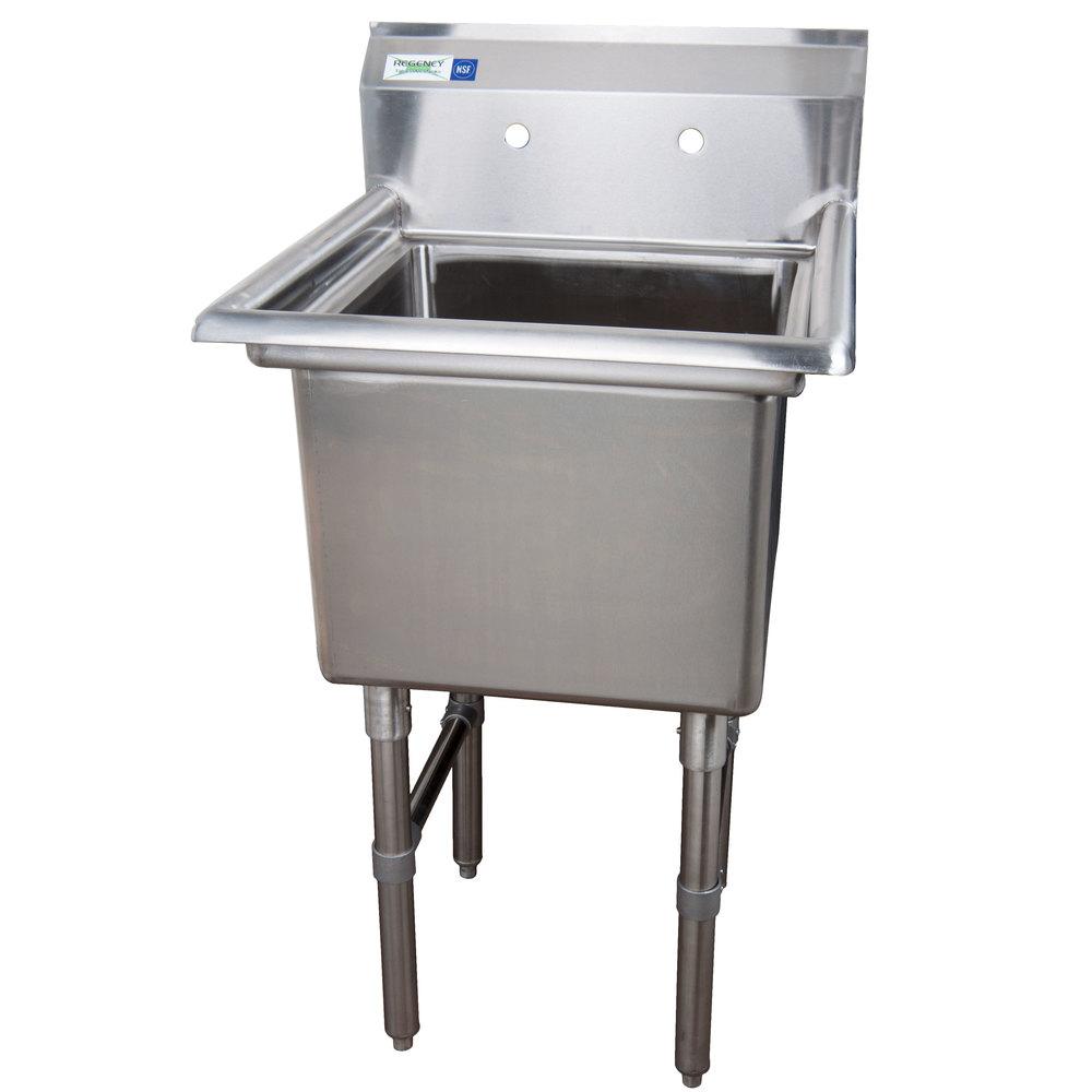 Commercial Sinks Stainless Steel : Regency 23