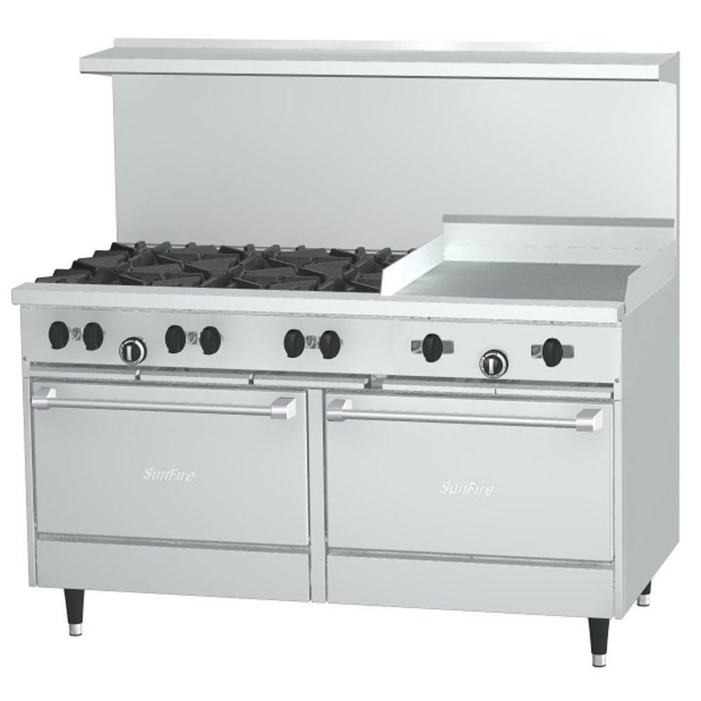 Gas Stove With Griddle ~ Natural gas garland sunfire series g rr burner