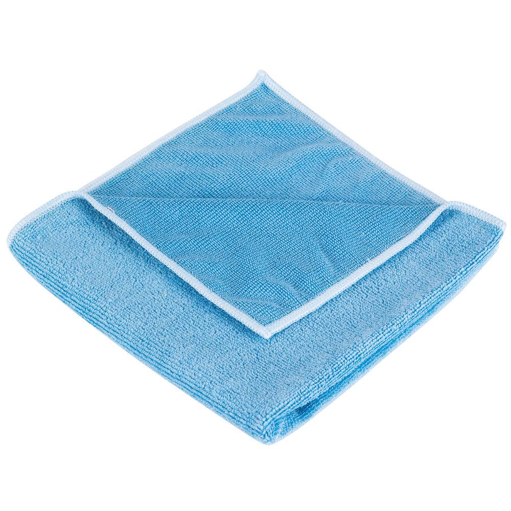 Heavy Duty Cloth : Unger mf b smartcolor microwipe quot blue heavy duty