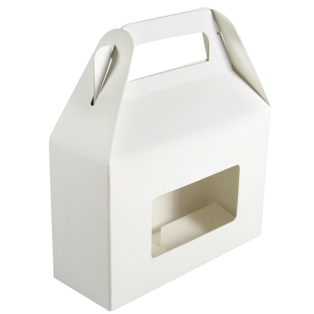 1 piece 1 2 lb rectangle window candy box white 5 3 8 x for 2 x 3 window