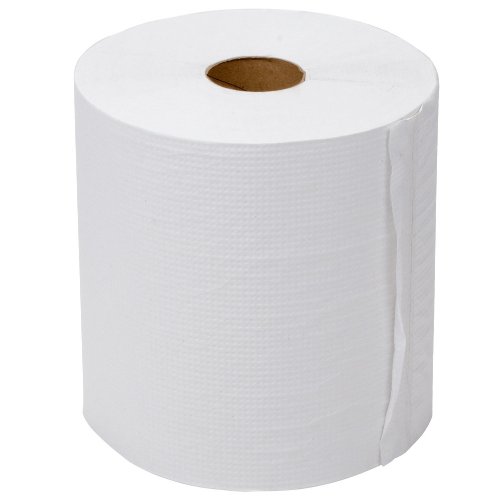 Lavex Janitorial 800 39 White Hardwound Roll Paper Towel 6 Case