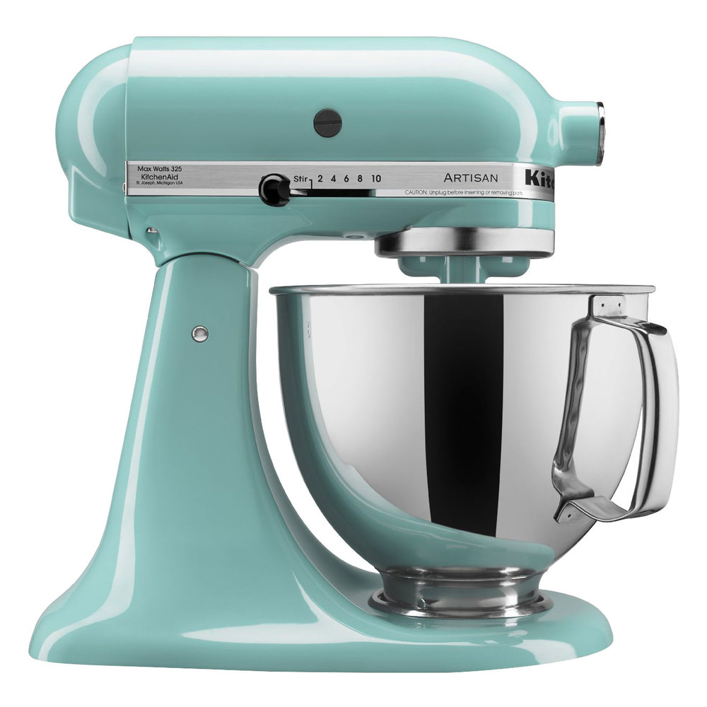 kitchenaid ksm150psaq aqua sky artisan series 5 qt countertop mixer. Black Bedroom Furniture Sets. Home Design Ideas