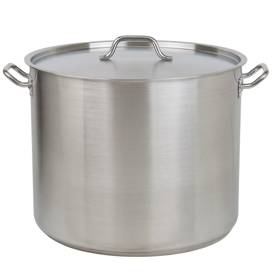 60 Qt Heavy Duty Stainless Steel Stock Pot With Cover