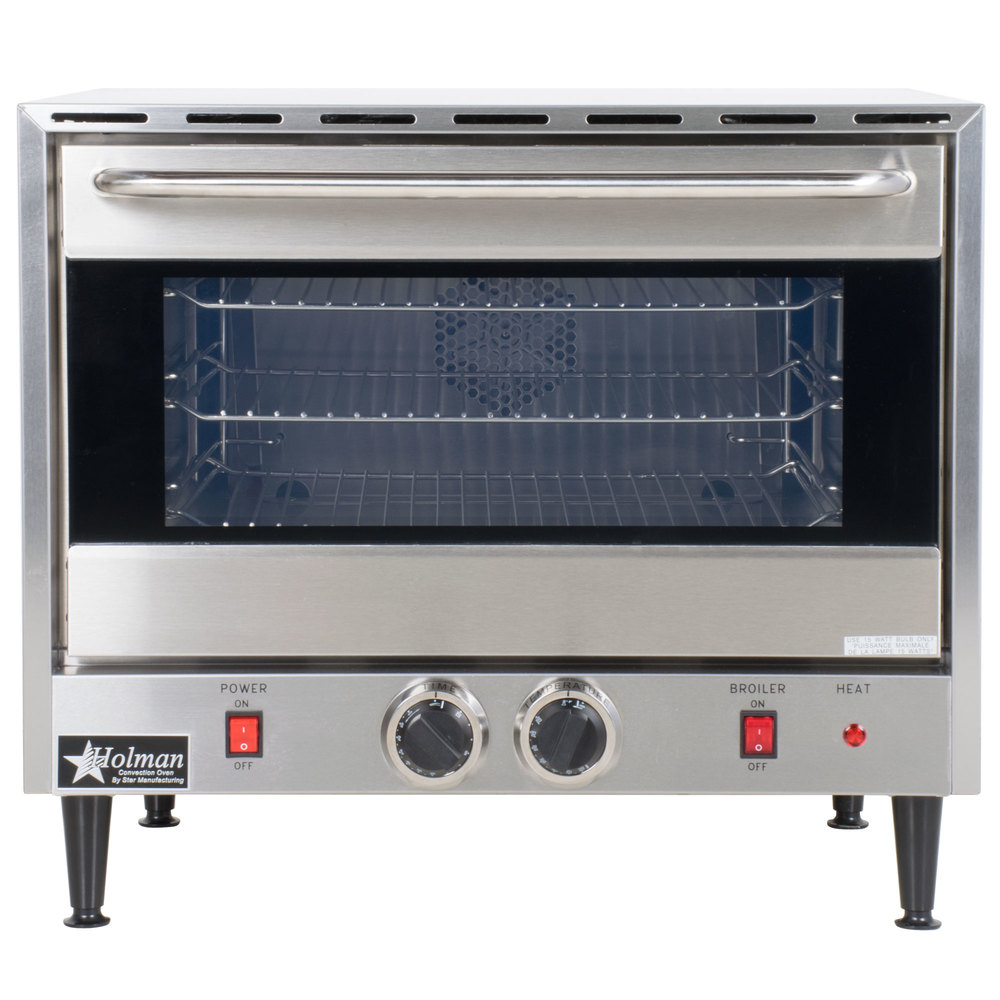 Best Commercial Countertop Pizza Oven : Star CCOH-3 Electric Countertop Half Size Convection Oven 120V