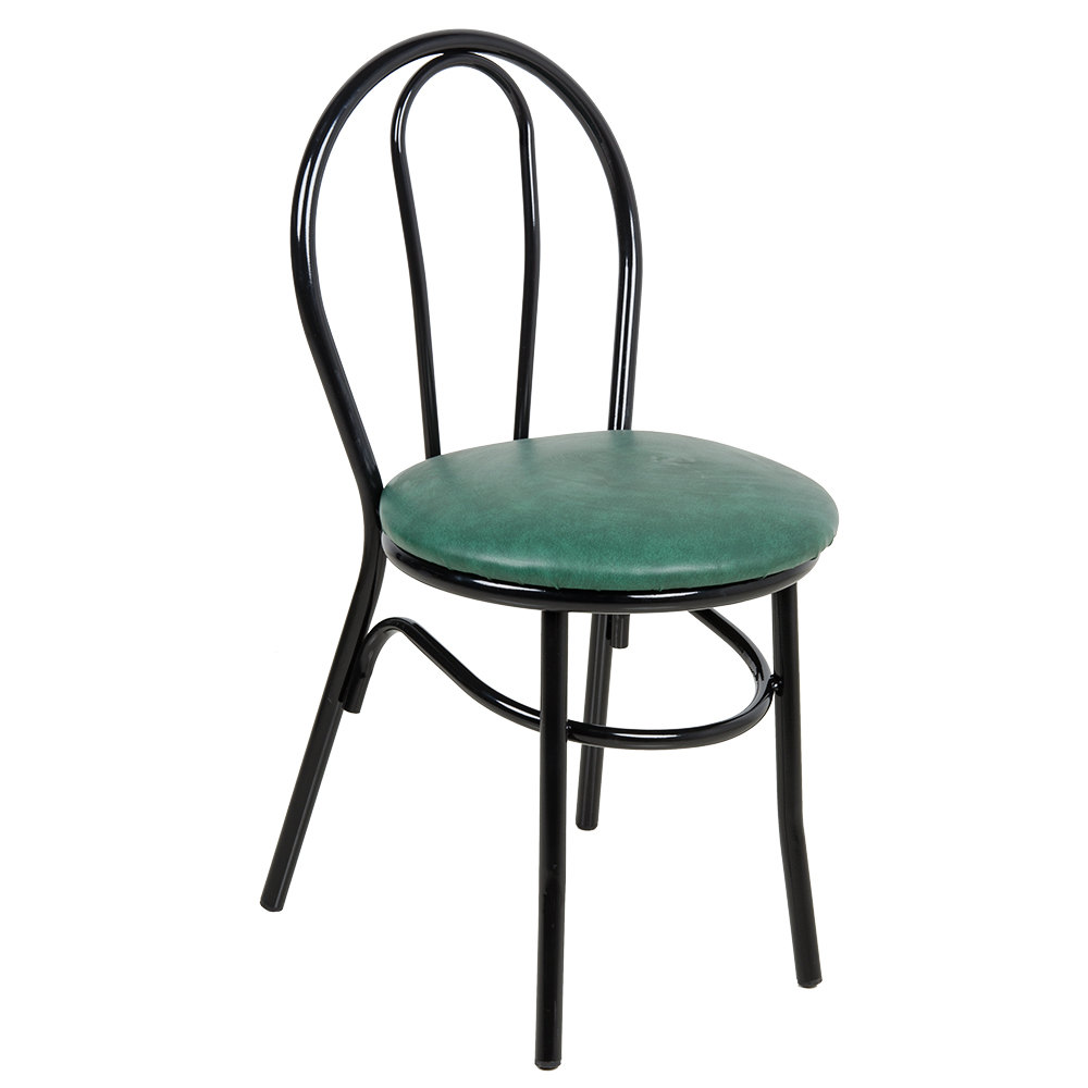 Lancaster Table & Seating Green Hairpin Cafe Chair with 1