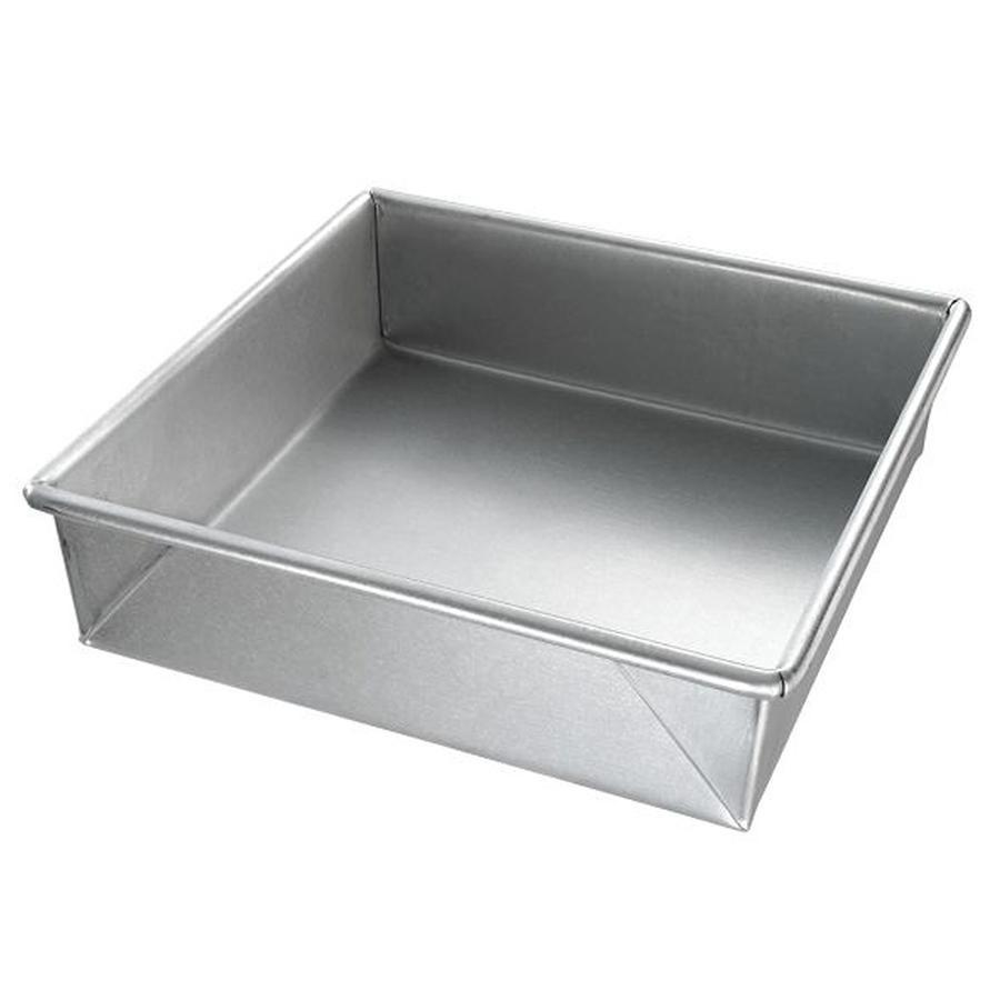 chicago metallic 21300 8 x 8 square cake pan. Black Bedroom Furniture Sets. Home Design Ideas