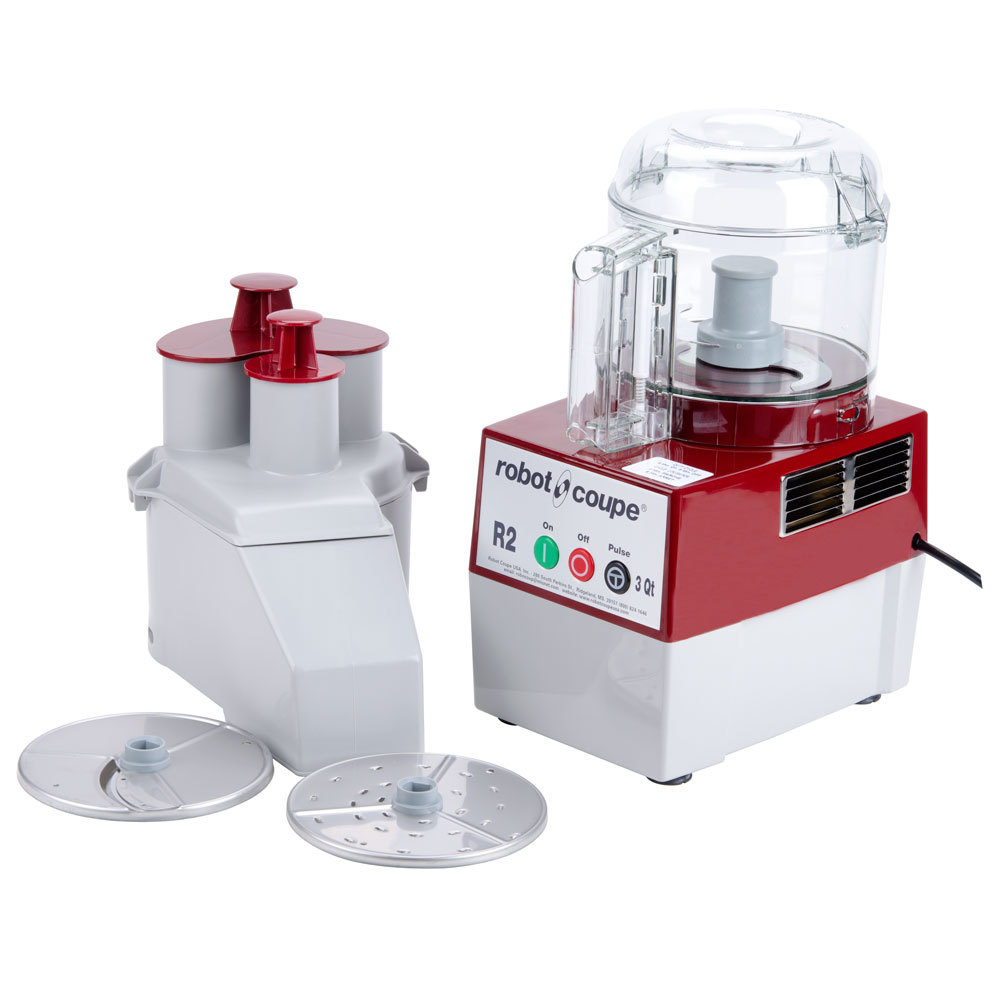 robot coupe r2nclr combination continuous feed food processor with 3 qt clear bowl 1 hp. Black Bedroom Furniture Sets. Home Design Ideas
