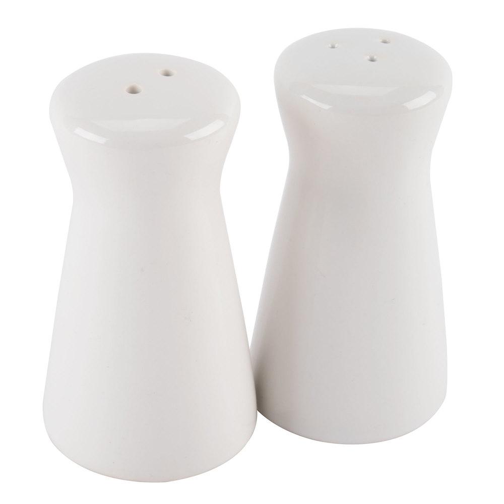 American Metalcraft Cspt2 2 Oz Ceramic Tower Salt And
