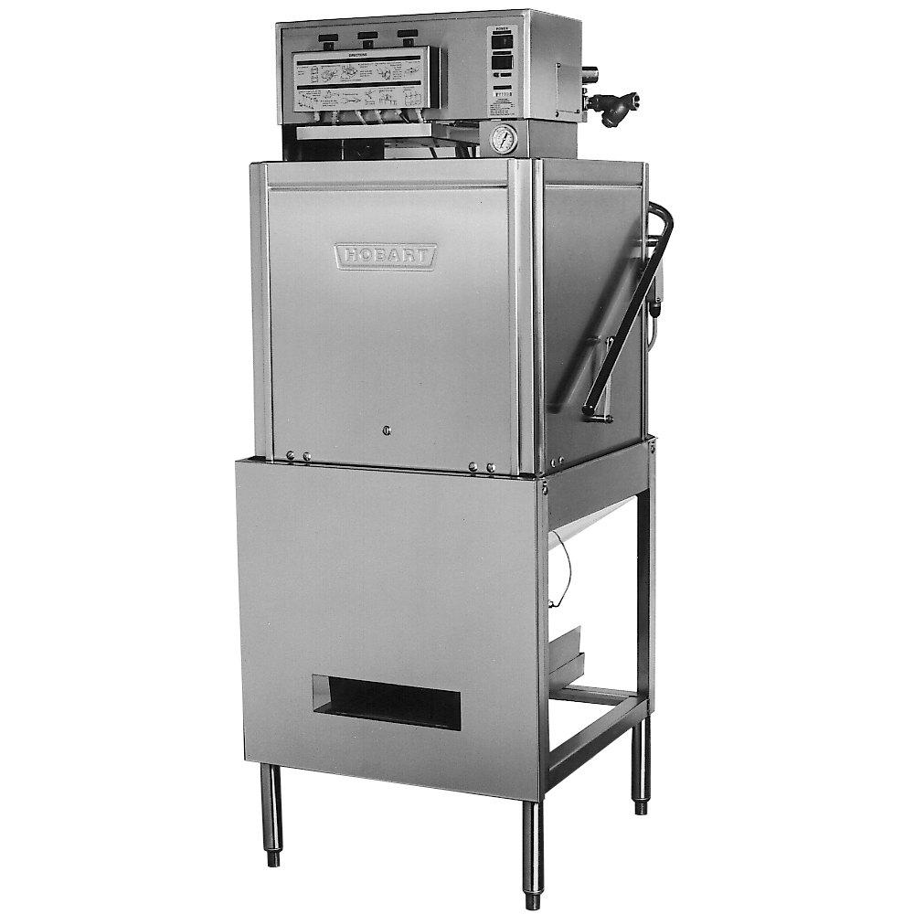 Commercial Dishwasher Restaurant Equipment ~ Hobart lt low temp chemical sanitizing dishwasher v