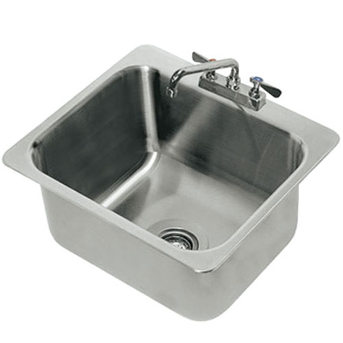 Stainless Steel Utility Sink Drop In : ... Tabco DI-1-2012 Drop In Stainless Steel Sink - 20