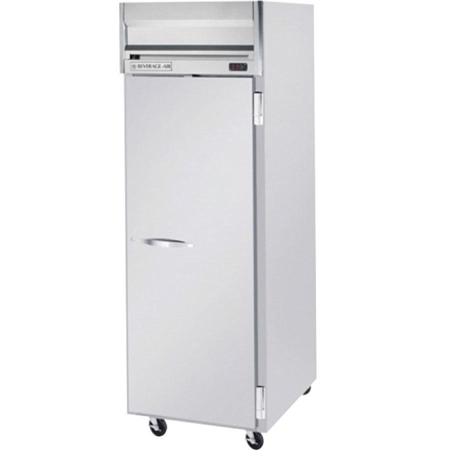 Beverage air hfps1 1s 1 section solid door reach in for 1 door freezer