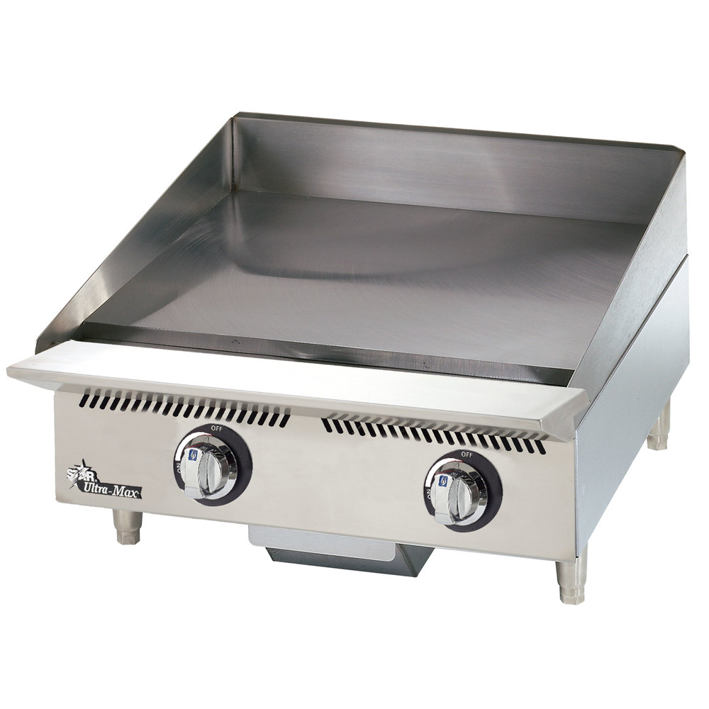 Countertop Gas Griddle : Star 824MA Ultra Max 24