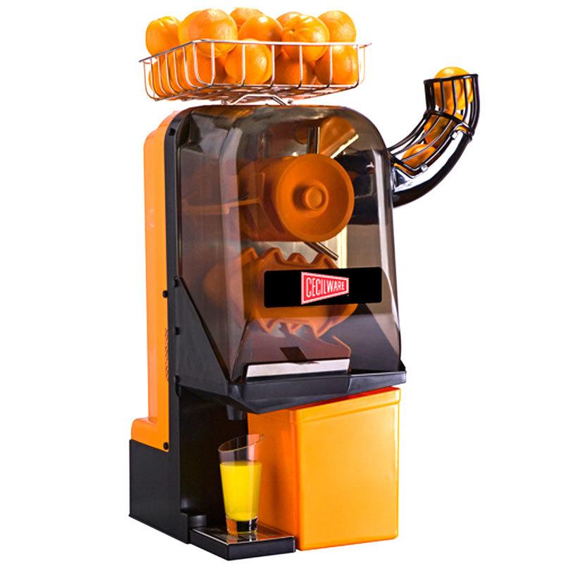 Cecilware jx15mc compact manual feed orange juice machine 15 oranges minute - Machine a orange pressee ...