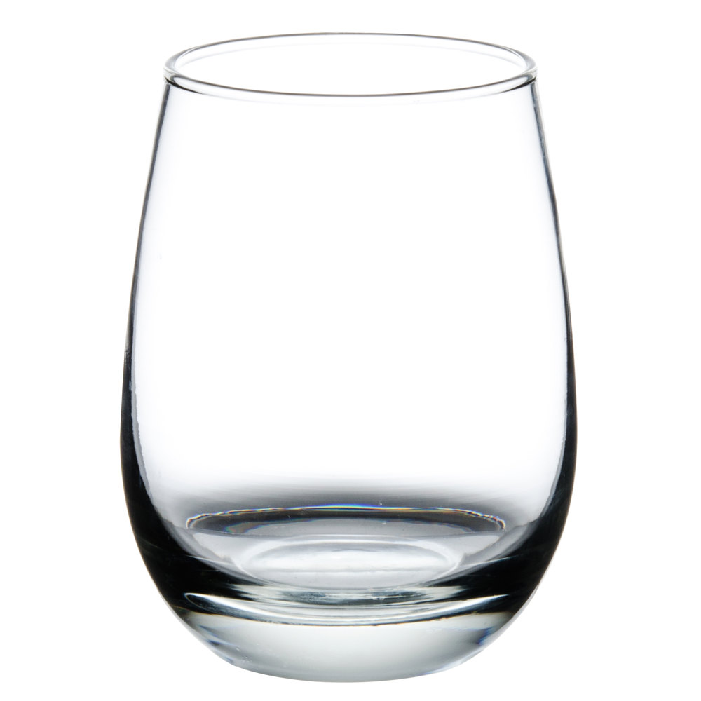 Libbey 231 oz stemless all purpose wine glass 12 case - Stemless wine goblets ...