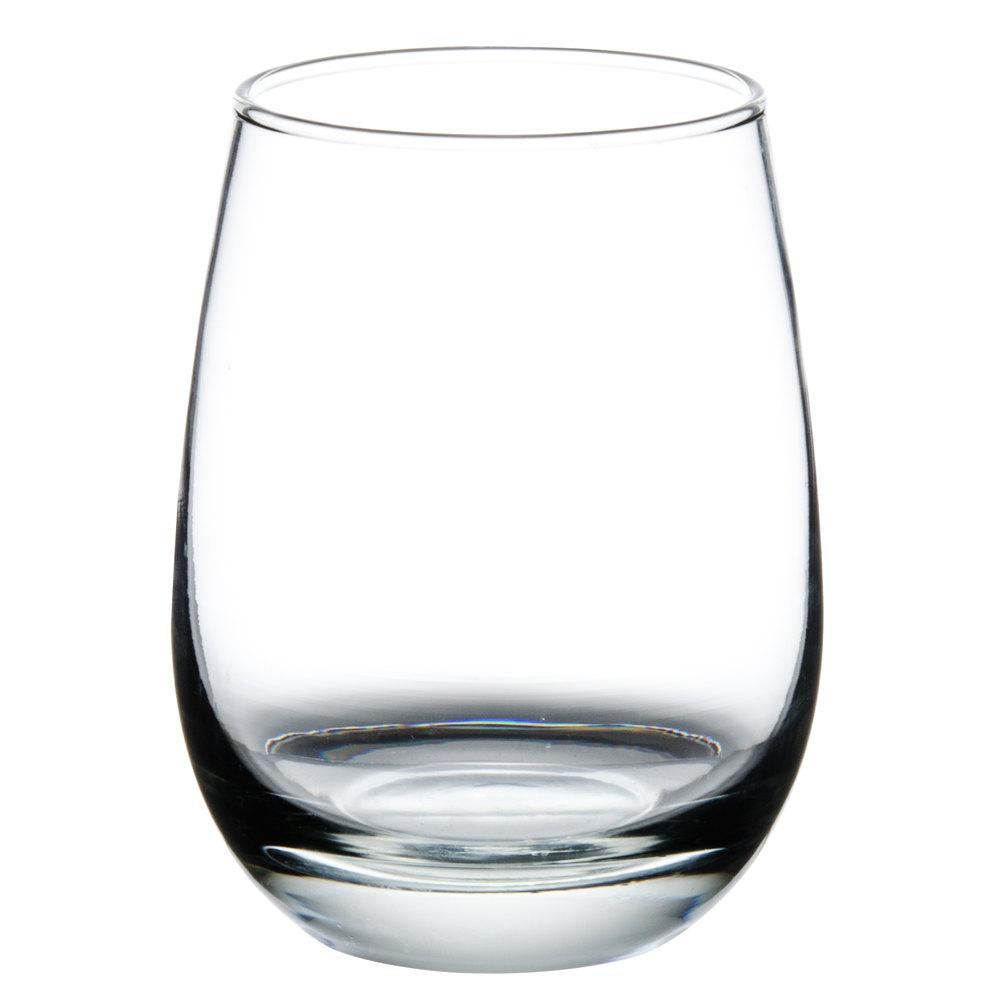 Libbey 231 oz stemless all purpose wine glass 12 - Beaker wine glasses ...