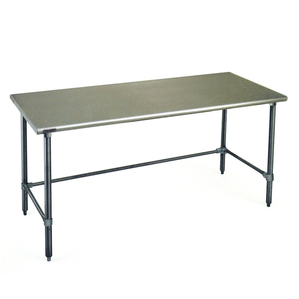 eagle t2484stb 24 quot x 84 quot open base stainless steel
