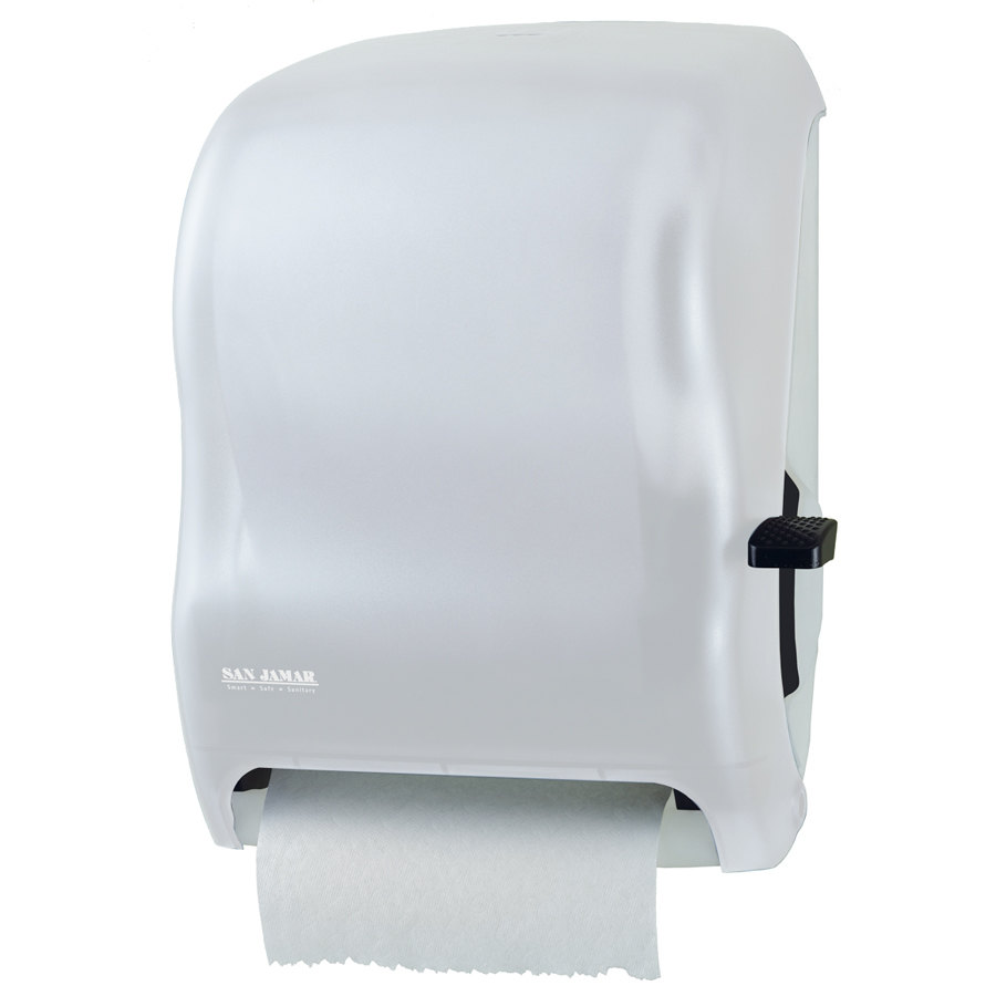 San Jamar T1100wh Classic Lever Roll Towel Dispenser White