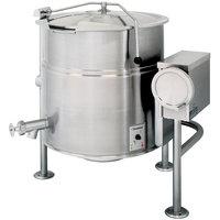Cleveland KEL-80-T 80 Gallon Tilting 2/3 Steam Jacketed Electric Kettle - 208/240V