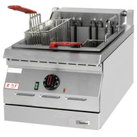 Garland ED-15SF Designer Series 17 lb. Electric Countertop Super Deep Fryer - 208V, 1 Phase, 8 kW