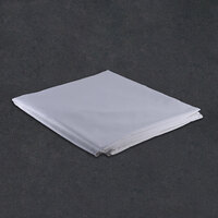Hotel Duvet Cover - 250 Thread Count Cotton / Poly - White Queen 94 inch x 99 inch