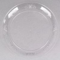 WNA Comet DWP10144C 10 1/4 inch Clear Plastic Designerware Plate - 18/Pack
