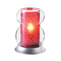 Sterno Products 85458 5 3/4 inch Red Lamp Shade