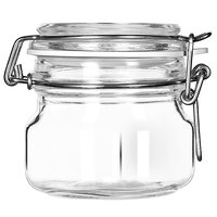 Libbey 17207223 6.75 oz. Garden Jar with Clamp Lid - 6 / Case