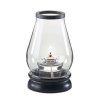 Sterno Products 85412 7 1/4 inch Hurricane Clear Glass Lamp Cylinder Globe