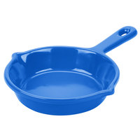 Tablecraft CW1980BL 6 1/8 inch Cobalt Blue Cast Aluminum Fry Pan