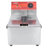 Avantco F100 10 lb. Electric Countertop Fryer - 120V, 1750W
