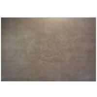 BFM Seating CN2430 Midtown 24 inch x 30 inch Rectangular Indoor Tabletop - Concrete