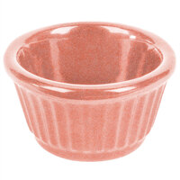 Tablecraft CW1650GG 3 oz. Ginger Cast Aluminum Ramekin