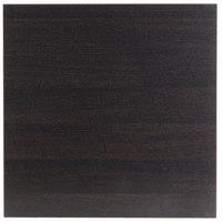 BFM Seating ES3636 Midtown 36 inch Square Indoor Tabletop - Espresso