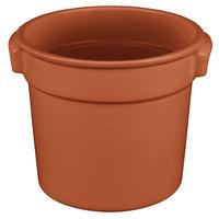 Tablecraft CW1300CP 7 Qt. Copper Cast Aluminum Bain Marie Soup Bowl