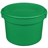 Tablecraft CW1310GN 11 Qt. Green Cast Aluminum Bain Marie Soup Bowl