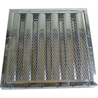 All Points 26-4612 20 inch x 20 inch x 2 inch Stainless Steel Hood Filter with Hook and Spark Arrestor - Kleen-Gard