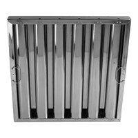 All Points 26-4596 25 inch x 20 inch x 2 inch Stainless Steel Hood Filter - Kleen-Gard