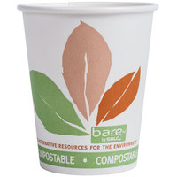 Dart Solo 370PLA-J7234 Bare Eco-Forward 10 oz. Paper Hot Cup - 1000/Case