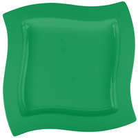 Tablecraft CW3650GN 13 inch Square Green Cast Aluminum Euro Platter
