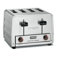 Waring WCT800RCND Heavy Duty 4 Slice Commercial Toaster - 120V (Canadian Use Only)