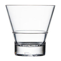 10 oz. Plastic Tapered Rocks Glass