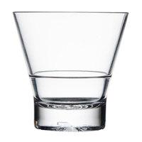 10 oz. Plastic Tapered Rocks Glass