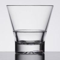 8 oz. Plastic Tapered Rocks Glass