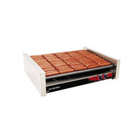 Star Grill Max Express X75S 75 Hot Dog Roller Grill with Duratec Non-Stick Rollers