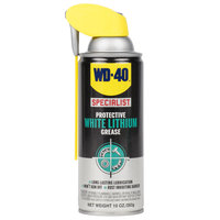 WD-40 Specialist 10 oz. Protective White Lithium Grease with Smart Straw - 6 / Case
