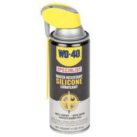 WD-40 Specialist 11 oz. Water Resistant Silicone Lubricant Spray with Smart Straw - 6 / Case