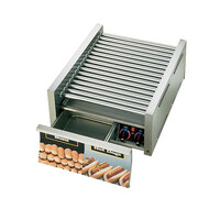Star Grill Max 45CBD-CSA 45 Hot Dog Roller Grill with Chrome Plated Rollers and Bun Drawer (Canadian Use Only)