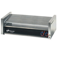 Star Grill Max 50CF-CSA 50 Hot Dog Roller Grill with Chrome Plated Rollers (Canadian Use Only)